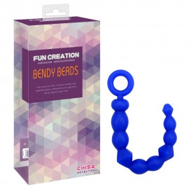 "10"" Silicone Bendy Beads"