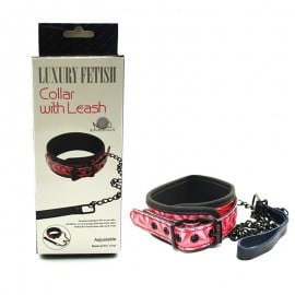 Luxury Fetish Collar w/ Leash