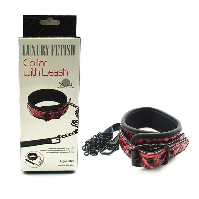 Luxury Fetish Collar w/ Leash
